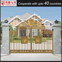 Top sale durable home main gate grill design driveway gate designs
