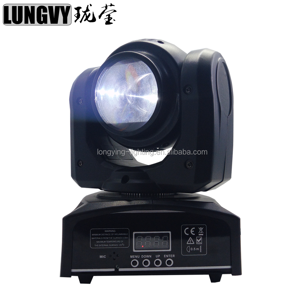 40W RGBW 4in1 Mini Led Moving Head Beam Wash Stage Light DJ Disco Party Lights