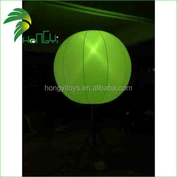 Inflatable Lighting Up balloon / Portable Tripod Led light tower / Inflatable Balloon Light Tower