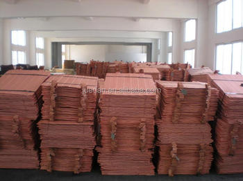copper cathodes from certified company