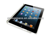 Elegant case for ipad 4 cover for apple ipad 4 16gb with filio stand and sleeping function from China manufacturer