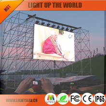 led display outdoor p10 ul tv panel,P10 led display aluminium profile rs485 sending card/power supply
