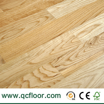 3 strip multiply prefinished natural oak flooring