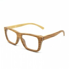 New arrival true colour wood glasses, fashion reading eyewear