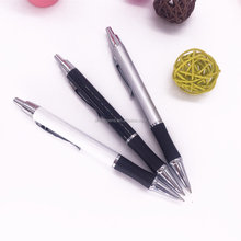 best selling with grip advertising metal ball pen with customized logo metal pen