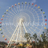 65m giant ferris wheel with air condition for sale