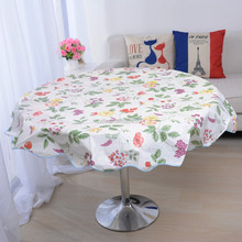 Wholesale laminated table cloth plastic decorative high quality table cover
