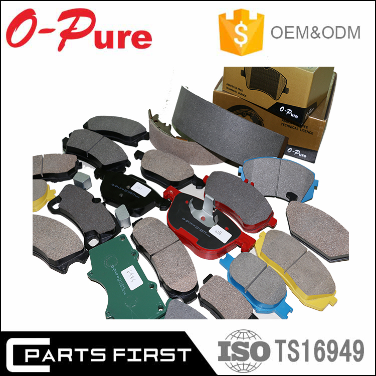 Top quality break pads auto spare parts Brake pad for VW Passat 3B2 4B0 698 151 E