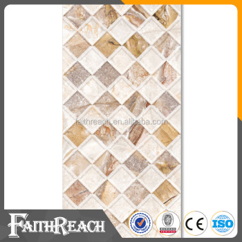 Bathroom 3D inkjet full polished glazed ceramics tiles