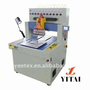 PVC Logo plastic drop machine (10 colors,CE certificate)
