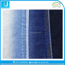bangladesh cotton polyester knitted denim jeans fabric material