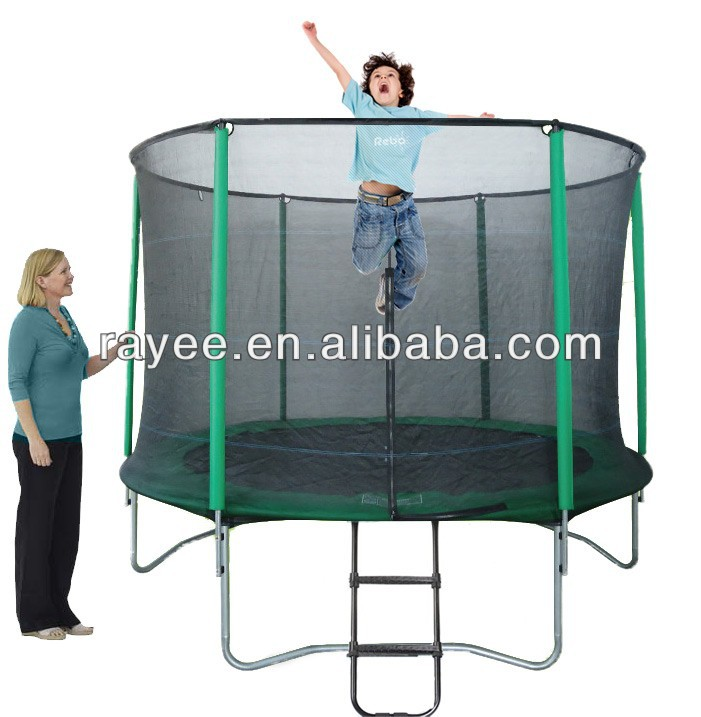 5FT - 16FT Large Round Cheap Trampoline With Safety Net With Ladder/ grandes trampolines baratos