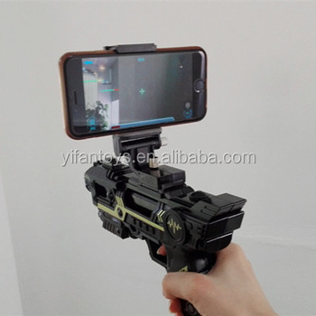 AR Game Gun,Mixed Reality Connected Via Bluetooth App control with 3D AR Games for CellPhone