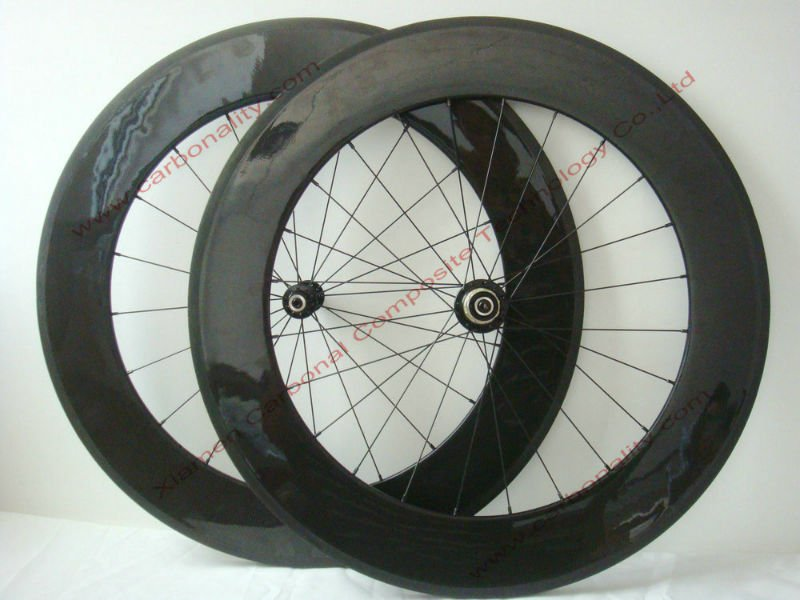 88mm clincher carbon road bike wheels, wheel carbon for road bicycle