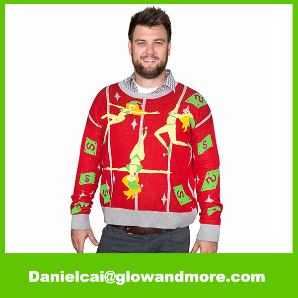 Factory customize New style warmer ugly christmas sweater