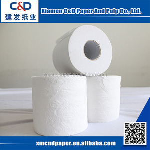 High Quality Bamboo Jumbo Roll Tissue Toilet Paper Biodegradable Tissue Paper