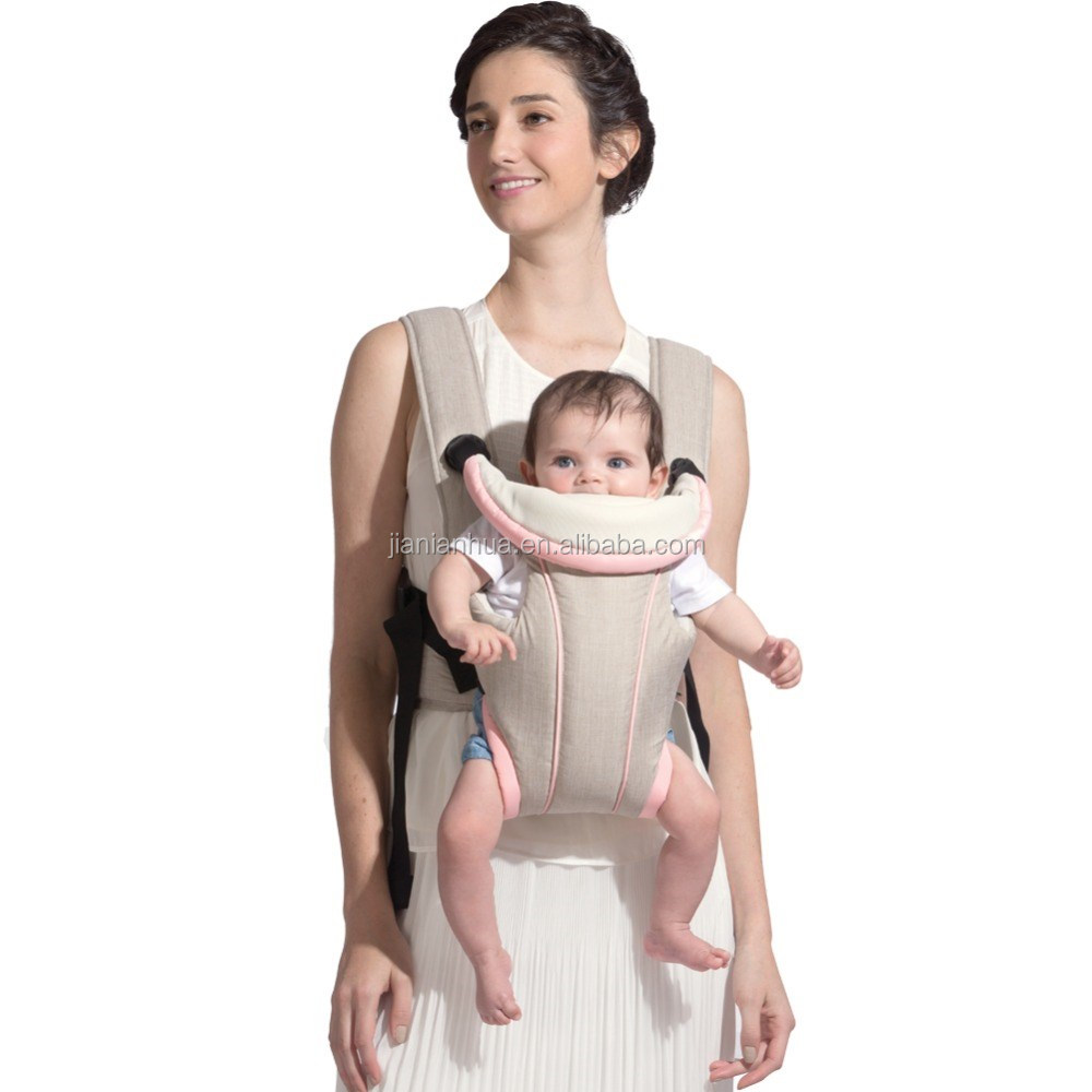 2017 New Design Kation Fabric Comfortable Stylish Ergonomic Baby Carrier Baby Sling