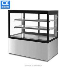 High quality luxury cake display chiller for cake storage and display cooler