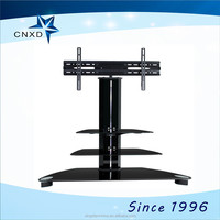 "big size 65"" LED LCD stainless steel tv stand model"