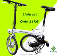 NEW electric bicycle! The lightest Li-ion quick folding portable 11kg electric bike india