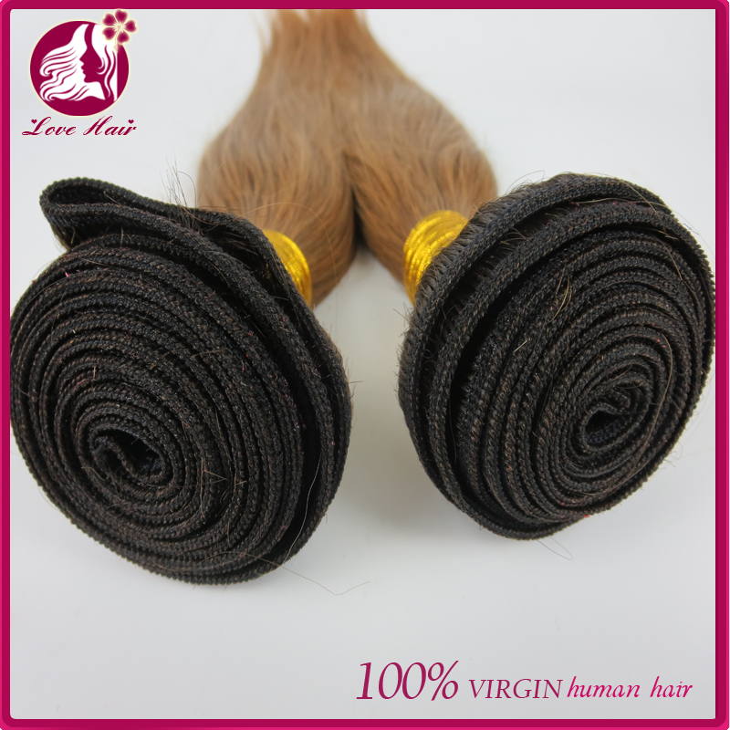 wholesale virgin Chinese hair, 100% unprocessed Chinese virgin hair, #2/30 mixed brown color hair bundles
