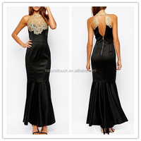 2014 latest design cut mermaid with ladies formal long evening party wear gown WS0051