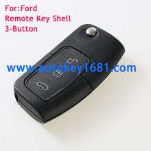 Remote key shell 3 button fits for Ford(old) Mondeo Fiesta Focus