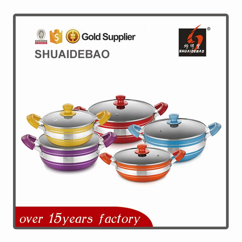 2017 New saladmaster titanium cookware with best quality and low price