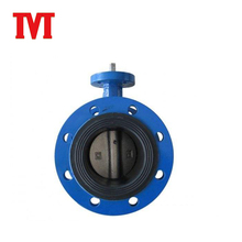 extension stem exhaust epdm lined butterfly valve