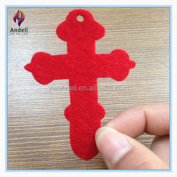 2014 New Design Cross Shape Mini Christmas Decor