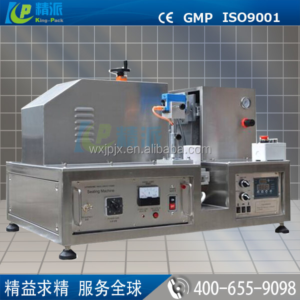 Excellent quality automatic ultrasonic plastic tube filling and sealing machine for cream,cosmetics etc.