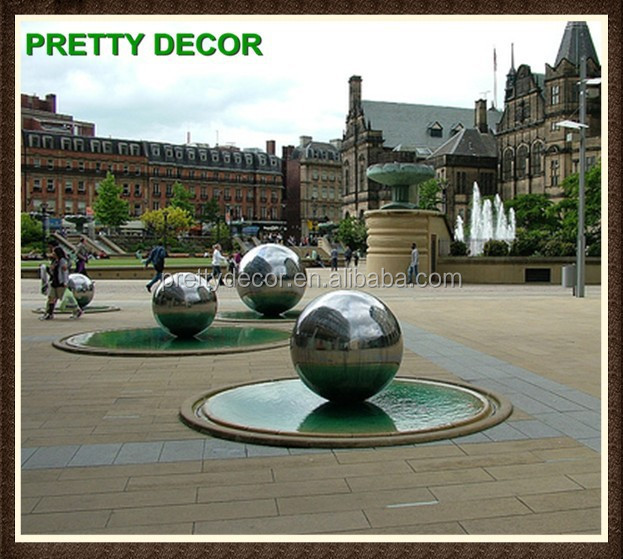 Garden Mirror Ball Ornament Sphere Sculptures