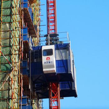 SHANDONG HONGDA Construction Lift Hoist SC200 200XP