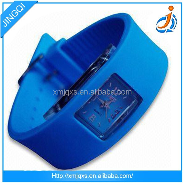 Hot sale cheap price and fast shipment jelly silicone watch
