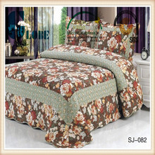 wholesale printed full size adult 100% cotton quilt