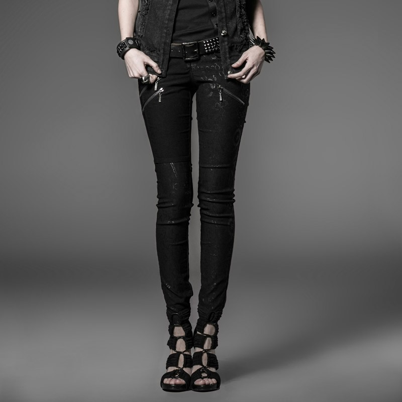 2014 new arrival gothic punk dark long shirts trousers for women K-173