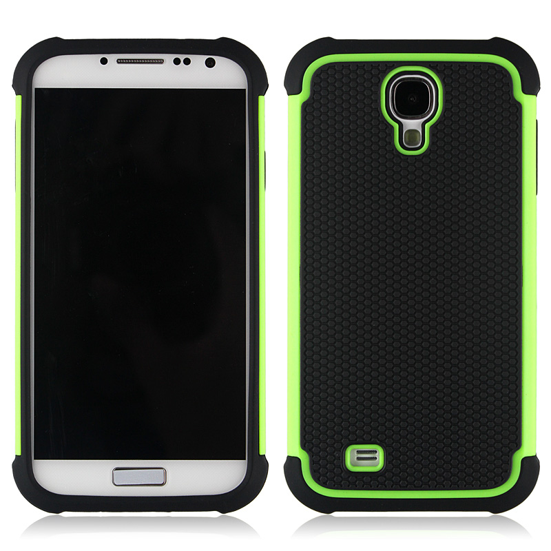 Triple Defender Case For Sumsung S4 With 11 Colors , Factory Price