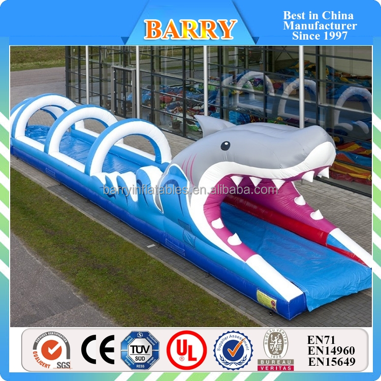 Commercial sharp Inflatable Water Slide, inflatable Slip and Slide, Slip N Slide infaltable