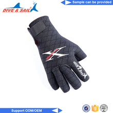 High Quality Water Sports Neoprene warm diving gloves kevlar