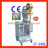 JT-240L automatic honey/oil/juice /water /tomato sauce/.paste/soybean sauce packing machine