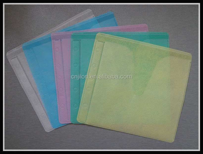 CD Binder Pages CD/DVD sleeves, 4/8/16 CD Capacity