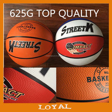 rubber basketball, 520-625G