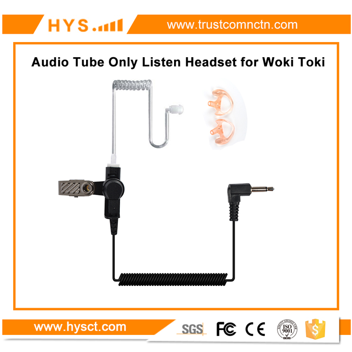 Best Selling Product Amateur Radio 3.5mm Earpiece Only Listen One Side Headset for <strong>Communication</strong>