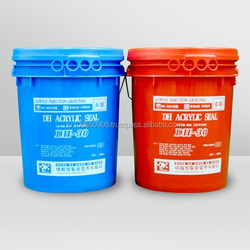 Acrylic curtain grouting agent