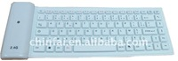 Wireless silicone keyboard for computer ,laptop ,notebook