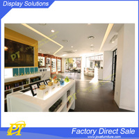 Beauty decoration perfume showroom shop furniture of perfume store design
