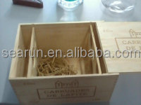 Factory Price !!! wood wine box,packing box, wooden crate