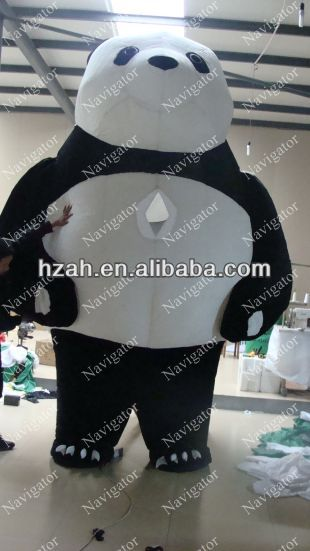 Fat Inflatable Panda/Animated Christmas Inflatable Characters