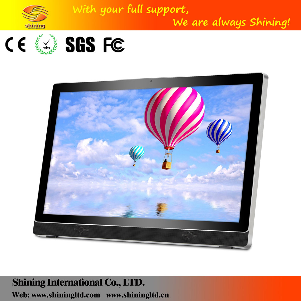 2016 Full HD 1080p lcd advertising 4.4 android wifi tablet pc SH2701WF