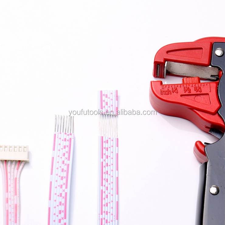 Automatic Shearing Pliers Universal Duckbill Pliers Stripping Flexible Cable from 0.2~4mm